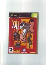 XIII-nicrosoft Xbox FPS Tirador Juego/360 compatible-Original y Completo