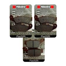 Pastiglie Honda XL/650/V/Transalp 2000 freno anteriori posteriori Ferodo  X MOTO