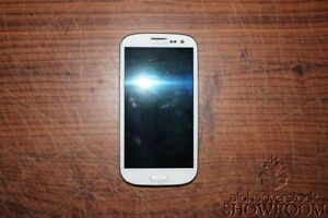 Used & Untested Verizon Samsung Galaxy V White Smart Phone For Parts/Repairs