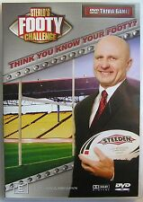 STERLO'S FOOTY CHALLENGE DVD TRIVIA GAME SPORT AFL