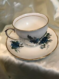 REGENCY ENGLISH  BONE CHINA CUP AND SAUCER  MADE IN ENGLAND