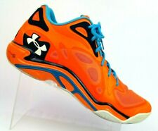 Under Armour Micro G Anatomix Spawn Orange Low Basketball 1249196-826 Men's 14