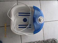 Sanitas Fußsprudelbad Fußmassagegerät Whirlpool u Wellness  für die Füße Fußbad