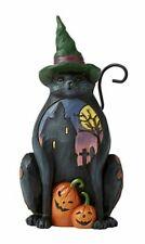Jim Shore Pint Sized Halloween Cat-Midnight Marvel 6006697 New 2020 Black Cat