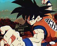 """IAN JAMES CORLETT Signed DRAGON BALL Z """"Goku"""" 8x10 Photo Autograph JSA COA Cert"""