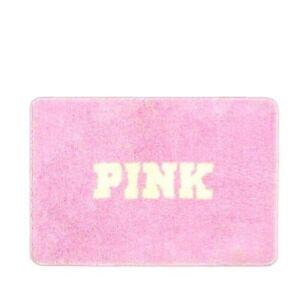 PINK Victoria's Secret BATHMAT Bathroom Plush SOFT Mat Rug Shower Bath Tub 25x17