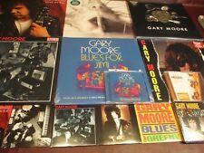 GARY MOORE BLUES FOR JIMI + BEYOND + GOT BLUES & STREETS LIVE LPS + BONUS CD'S