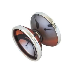 YoYoFactory BIMETAL ORANGE Splash Yoyo - Great profesional unresponsive yoyo