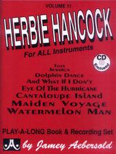 Jamey Aebersold Jazz Play-Along 11 Herbie Hancock Noten mit CD