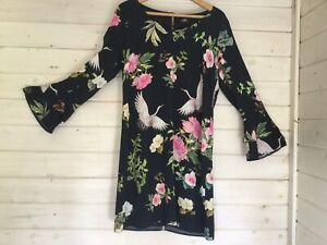 Wallis Stunning Dress Size 12 Fully Lined Free Postage Excellent Condition