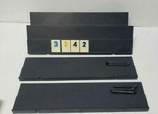 Rummikub Vintage 1980 4 Game Tile Holder, Four Holders, 7 Legs