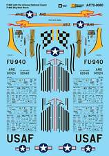 MICROSCALE Decalcomanie 1/72 North American F-86E Sabre # AC720060