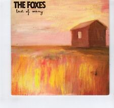 (GR302) The Foxes, Last of Many - 2011 DJ CD