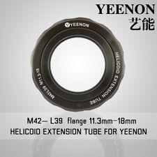 【YEENON】M42 to L39 x 11.3mm Focusing Helicoid Macro Extension Tube