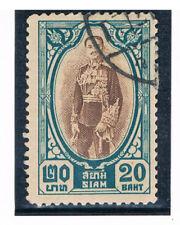 THAILAND 1928 King Prajadhipok 20b FU