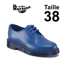 Dr Martens 1461 mono Blue, taille 38 EU, 5 UK. New in Box