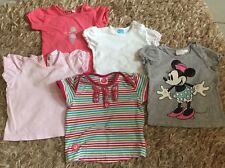 5 T-Shirts Shirts Gr. 62 Mädchen Baby Sommer Mexx H&M Cake Walk