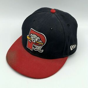 Portland Sea Dogs New Era Fitted Baseball Hat Size 7 1/2 Game Used Stephen Fife
