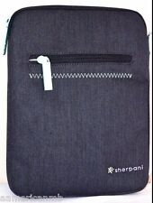 "Sherpani Sync 10"" Tablet Sleeve Case Cover BLACK Ipad 2 3 4 Air Samsung Kindle"