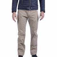 ARMANI COLLEZIONI TCPJ15 TCS00 Mens Chino Trousers Medium Waist Regular Fit