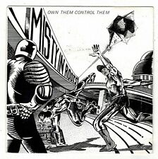 """MISTY IN ROOTS-own them control them   people unite 7""""    (hear)  reggae"""