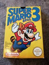 Jeu vidéo Nintendo NES super Mario Bros 3 en boite scellé avec pastille Nintendo