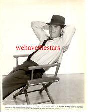 Vintage Jeffrey Hunter SEXY QUITE HANDSOME '58 Publicity Portrait