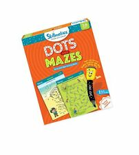 Skillmatics Educational Game: Dots and Mazes (3-6 Years) | Erasable and Reusa.