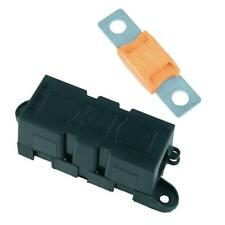 Panel Mount Inline Mega Fuse Holder + 150A Fuse Car Van Marine Truck 12V 24V