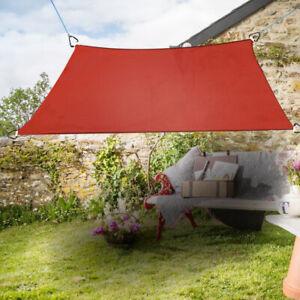 Sonnensegel Quadrat Sonnenschutz Segel Beschattung UV-Schutz Terrakotta 2x2m