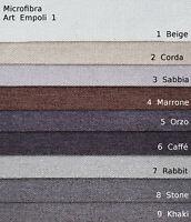 Tessuto Arredo Microfibra 25 Colori h cm 140 a Taglio e a Pezze di 12 Metri