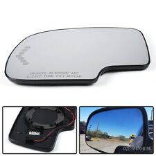 Heated Mirror Glass Power Turn Signal Driver Side Fit For Chevy Gmc Cadillac Usa Fits 2005 Chevrolet Silverado 2500 Hd Ls