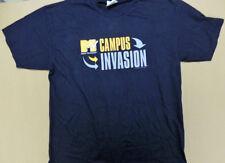 1999 MTV Campus Invasion Concert T-Shirt Sugar Ray Orgy Size XL