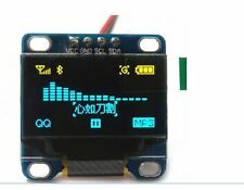 "OLED 0.96"" yellow blue Display Module For Arduino I2C Display 128X64 OLED"
