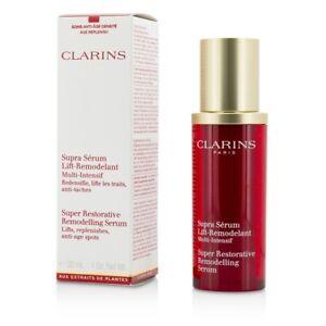 NEW Clarins Super Restorative Remodelling Serum 30ml Womens Skin Care