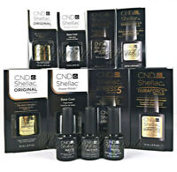 CND Shellac Top Coat Base Xpress5 Duraforce Matte Glitter Pearl PICK YOUR SIZE