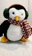 NWT 1999 McFinn Hugsy Penguin Debbie Mumm Mummford 6 in plush Mervyns