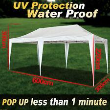 EZ POP UP 10'X20'Wedding Party Tent Folding Gazebo Beach Camping Canopy