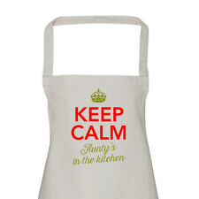 Aunty Gift Apron Funny Personalised Keepsake Cooking Present Cotton Twill Aunty