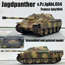 WW2 German Jagdpanther tank destroyer s.Pz.JgAbt.654 non diecast 1/72 Easy model