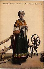 CPA  Costume de Savoie - Tarentaise - Le Rouet  (388191)