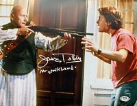 James Tolkan autographed 11x14 photo Back To The Future PSA COA Mr Strickland