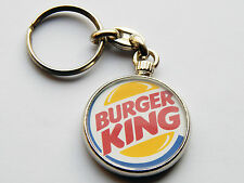 Chrome Food & Drink Circle Collectable Keyrings