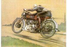 1946 Vincent Series B 'Racing' Rapide poster