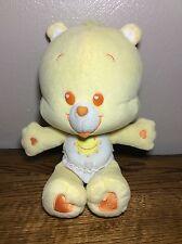 "11"" Care Bear Cubs Baby Funshine Bear Yellow Sunshine Diaper"