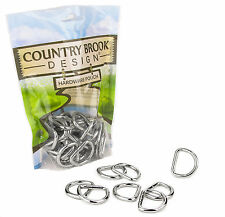 50 - Country Brook Design® American Made 1 Inch Welded D-Rings