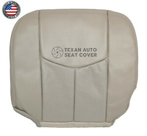 2003-2006 Cadillac Escalade Passenger Bottom Synthetic Leather Seat Cover Tan