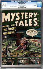 Mystery Tales #1 CGC 7.0 Golden Age  1952 Bethlehem Copy
