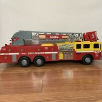 "32"" SUPER SIZED Tonka Fire Rescue Truck #328 Toy #05786 - Lights & Sounds Work"