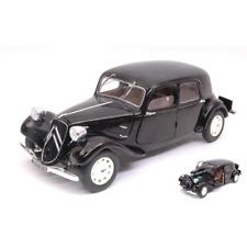 CITROEN TRACTION 11 CV 1937 BLACK 1:18 Solido Auto d'Epoca Die Cast Modellino